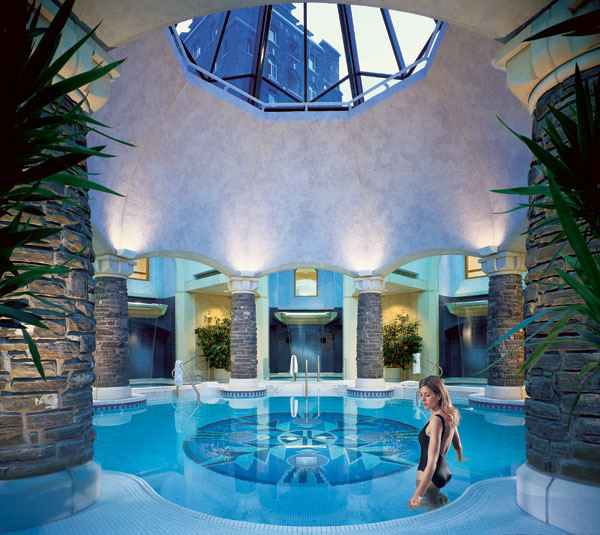awesome spa experience at the Fairmont Banff Springs