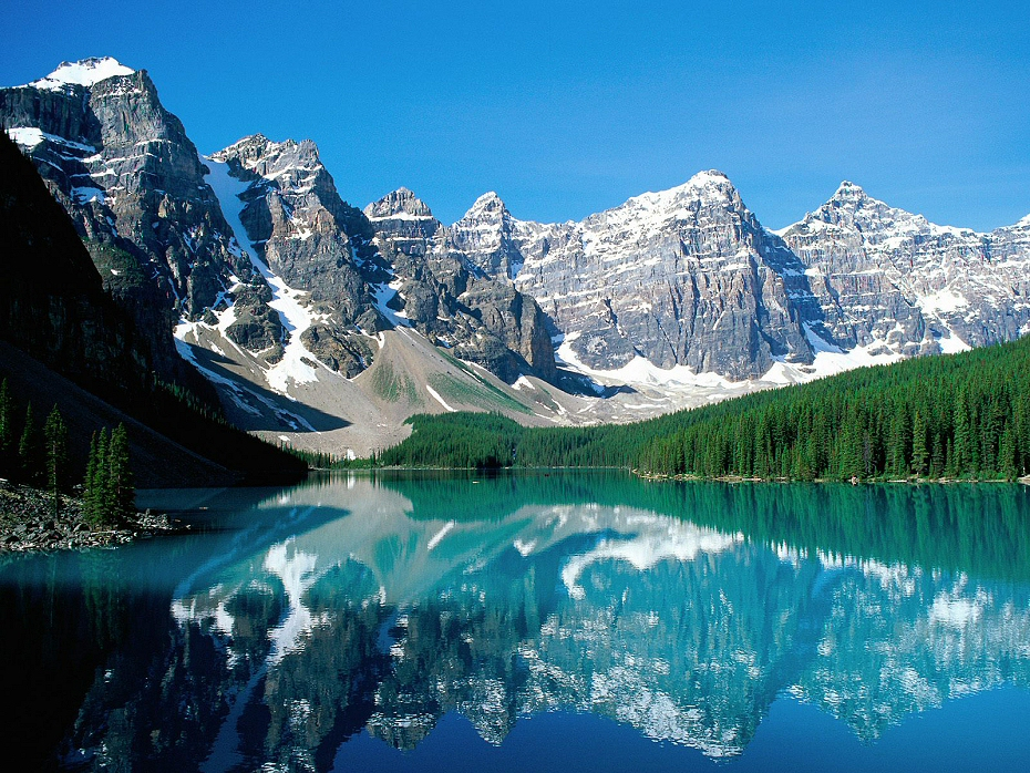 Moraine Lake is the real Gem of the Rockies